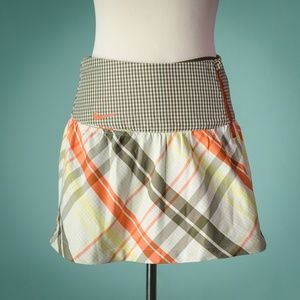 Nike Golf M Dri-Fit Plaid Vapor Mini Skort
